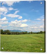 New Hampshire Mountain Meadow Acrylic Print