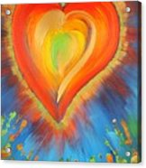 New Heart Acrylic Print