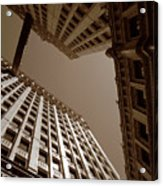 New Heights - Wrigley Building - Chicago Acrylic Print