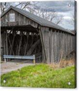 New Hope Covered Bridge  Acrylic Print