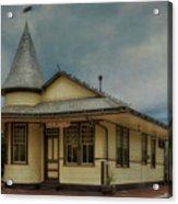 New Hope Train Station Acrylic Print