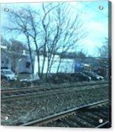 New Jersey From The Train 4 Acrylic Print