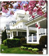 New Jersey Shore Spring Acrylic Print