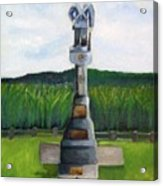 New Jersey Soldier At Monocacy Battlefield In Frederick Md. Acrylic Print