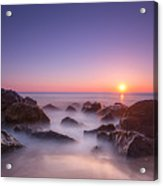 New Jersey Sunrise At Sea Girt Acrylic Print