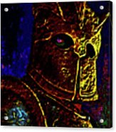 New Knight Of The King's Guard. Mask. Acrylic Print