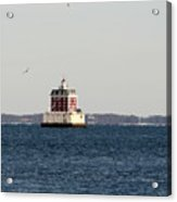 New London Lighthouse Acrylic Print