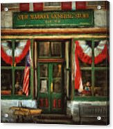 New Market General Store Acrylic Print