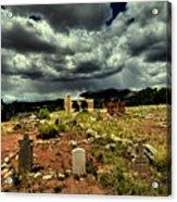 New Mexico Graveyard Acrylic Print