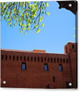 New Mexico Museum Of Art Acrylic Print