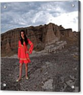 New Mexico Princess Acrylic Print