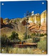 New Mexico Ranch Acrylic Print