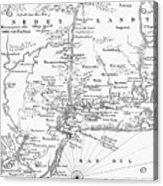 New Netherlands 1656 Acrylic Print