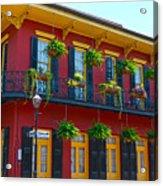 New Orleans Balcony Acrylic Print