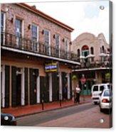 New Orleans Bourbon Street 2004 #43 Acrylic Print