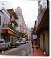 New Orleans Bourbon Street 2004 #45 Acrylic Print