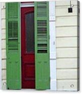 New Orleans Door 11 Acrylic Print