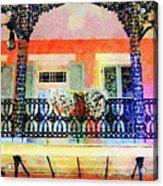 New Orleans French Quarter Balcony Acrylic Print