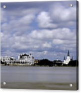New Orleans From Algiers Point - In Color Acrylic Print
