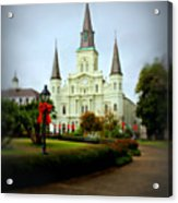 New Orleans Holiday Acrylic Print