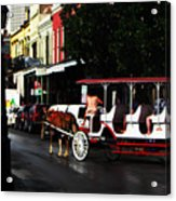 New Orleans Horse Carriage Acrylic Print
