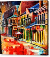 New Orleans Jive Acrylic Print