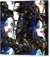 New Orleans Masks Acrylic Print