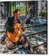 New Orleans Musician - Chris Craig Acrylic Print