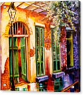 New Orleans Mystery Acrylic Print