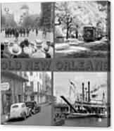 New Orleans Nostalgia Acrylic Print