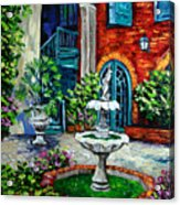 New Orleans Painting Brulatour Got A Penny Acrylic Print