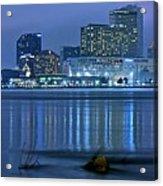 New Orleans Panorama Acrylic Print