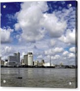 New Orleans Panoramic Acrylic Print