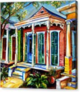 New Orleans Plain And Fancy Acrylic Print