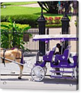 New Orleans Royal Carriage Acrylic Print
