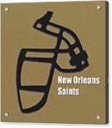 New Orleans Saints Retro Acrylic Print