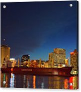 New Orleans Skyline At Night  Acrylic Print