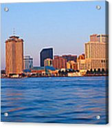 New Orleans Skyline From Algiers Point Acrylic Print