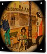 New Orleans Street Band Acrylic Print