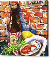 New Orleans Treats Acrylic Print