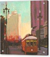 New Orleans Trolley Acrylic Print