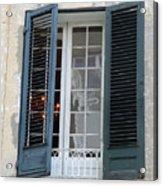 New Orleans Windows 5 Acrylic Print