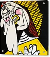 New Picasso The Weeper 2 Acrylic Print