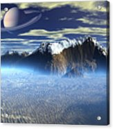 New Planet Saturn 1 Acrylic Print