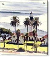 New Point Loma Lighthouse Acrylic Print