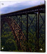 New River Bridge Acrylic Print
