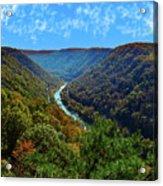 New River Gorge - Autumn Acrylic Print