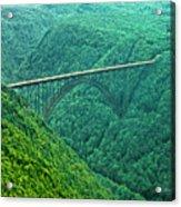 New River Gorge Bridge Acrylic Print
