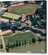 New Rochelle High School Aerial Photo Acrylic Print