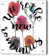 New Romantics Acrylic Print